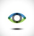 Eye Logo design vector image vector image