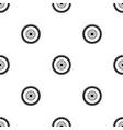 gear wheel pattern seamless black vector image vector image