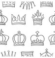Pattern crown hand draw collection