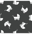 Pram pattern vector image vector image