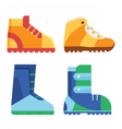 Sport Boots for Outdoor Activities vector image vector image