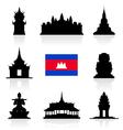 Cambodia Icon vector image