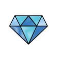 grated beauty luxury diamond gen accessory vector image vector image