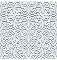 Grey seamless pattern vector image vector image