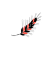 icon ear of wheat vector image