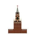 Kremlin tower vector image vector image