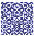 optical illusion pattern vector image vector image