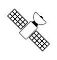 satellite transmission telecommunication icon vector image vector image