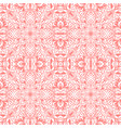 seamless pattern with arabesques in retro style vector image vector image