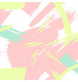 creative pattern in pastel colors brush vector image