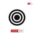 bulls eye icon vector image