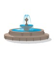Fountain vector image