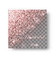 glitter pink background vector image vector image