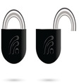 Lock 03 resize vector image vector image