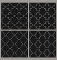 oriental ornate seamless background set in eastern vector image