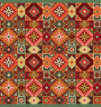 tribal carpet ethnic seamless pattern vector image