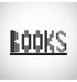 Books logo concept vector image