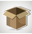 carton box design vector image vector image
