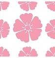 Cherry blossom sakura seamless pattern background