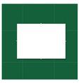 crop here vector image vector image
