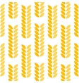 Ear of wheat seamless pattern