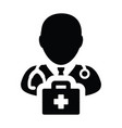 Healthcare icon male doctor person profile avatar