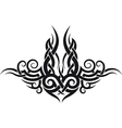 maori tribal tattoo design vector image vector image