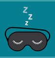 night accessory to sleep vector image