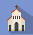 religious church icon flat style vector image vector image