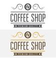 set vintage labels emblems and logo templates vector image vector image