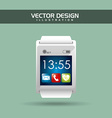 wearable technology design vector image