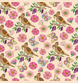 spring pattern 2 vector image