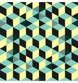 Abstract 3d background - wall of cubes vector image vector image