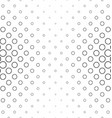 Abstract black and white ring pattern vector image vector image