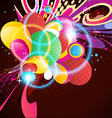 colorful artwork vector image vector image
