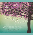 inspiration card for wedding date birthday tea vector image