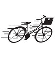 isolated delivery icon vector image vector image