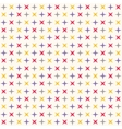 Seamless modern geometric polka rhombus pattern vector image vector image