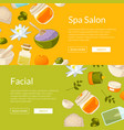web banners spa vector image