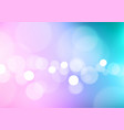 abstract bokeh light on soft colors background vector image