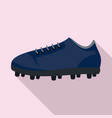 american football shoes icon flat style vector image