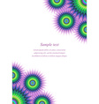 Colorful page ornament cover design template vector image vector image