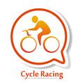 CycleRacingB vector image vector image