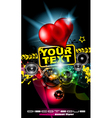 Love Disco Poster vector image vector image