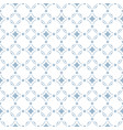 blue abstract geometric seamless pattern vector image vector image