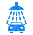 Car Shower Grainy Texture Icon vector image vector image