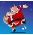 Hi Santa Claus vector image
