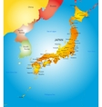 Japan country vector image vector image