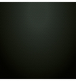 Realistic dark green carbon background texture vector image