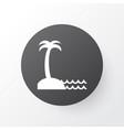 seaside place icon symbol premium quality vector image vector image